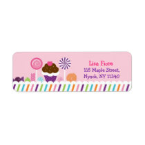 Sweet Shop Candy Address Labels