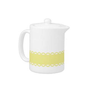 Sweet Shop Yellow Ribbon on White