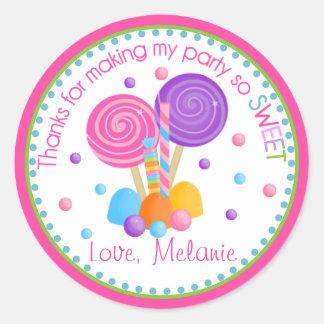Sweet Shoppe Birthday Sticker