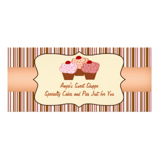 Sweet Shoppe Cupcake Business Gift Certificate