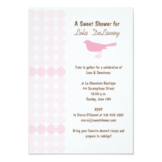 Sweet Shower Bridal Shower Invitation