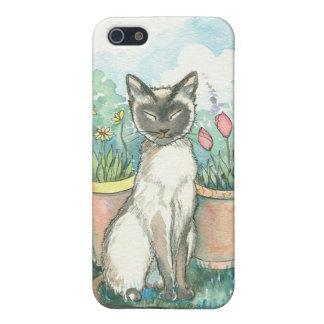 Sweet Siamese Cat iPhone Case