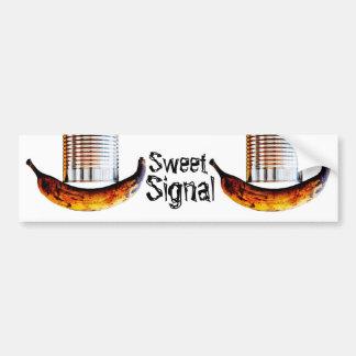sweet signal bumper sticker
