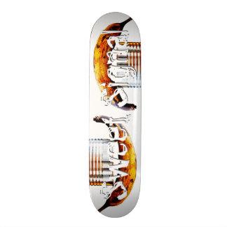 sweet signal skateboard deck