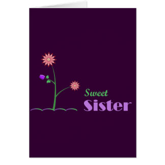 Sweet Sister Greeting Cards