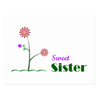 Sweet Sister Post Cards