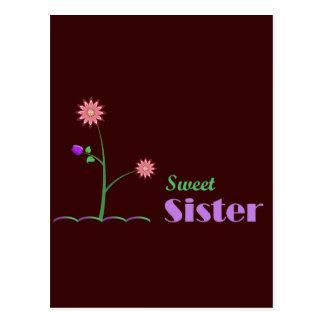 Sweet Sister Postcard