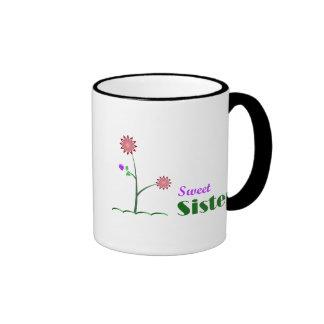 Sweet Sister Ringer Coffee Mug