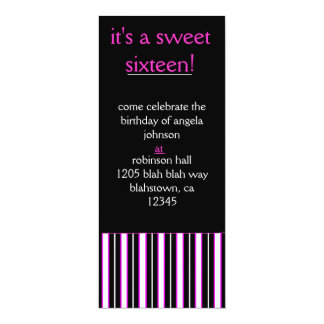 sweet, sixteen, and sophisticated card