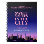 Sweet Sixteen Birthday Autograph Memories Notebooks