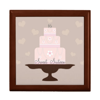 """Sweet Sixteen"" Birthday Gift Box"