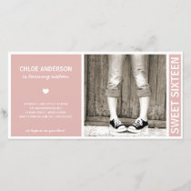 SWEET SIXTEEN | BIRTHDAY INVITATION