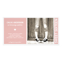 SWEET SIXTEEN | BIRTHDAY INVITATION