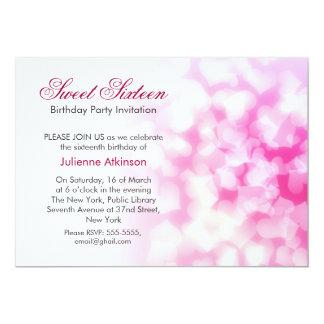sweet sixteen birthday party invitation