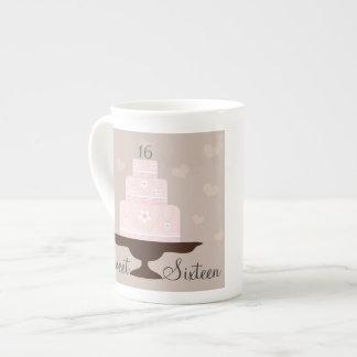 """""""Sweet Sixteen"""" Birthday Specialty Mug Tea Cup"""