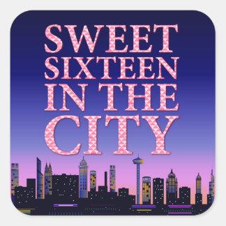 Sweet Sixteen Birthday Stickers