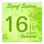 Sweet Sixteen Brezze Invitation-Cust.