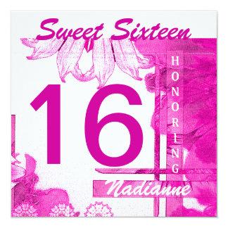 Sweet Sixteen Brezze Invitation-Cust. Card