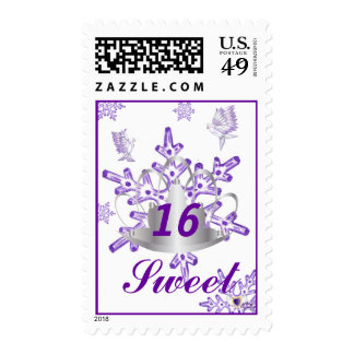 Sweet Sixteen Dream-Customize Postage Stamps