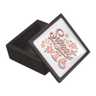 Sweet Sixteen Gift Box