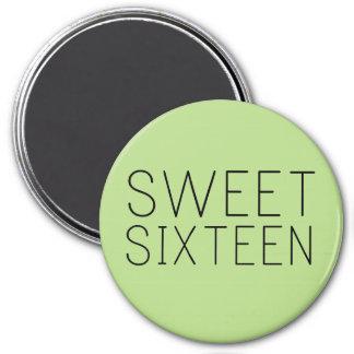 Sweet Sixteen Gift/Favor Magnet