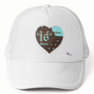 Sweet Sixteen Gifted Cap -Customize hat