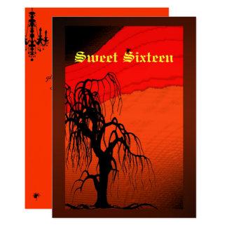 Sweet Sixteen, Halloween Costume Invitation