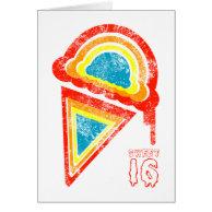 sweet sixteen ice cream dripz cards