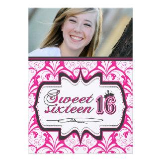 Sweet Sixteen Invitation - Customizable