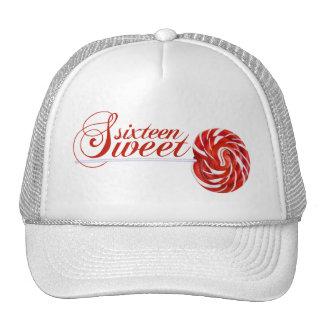 Sweet Sixteen Lollipop Trucker Cap Trucker Hat