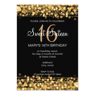 Sweet 15 Birthday Invitations Sweet 16 Invitations Elegant Invites
