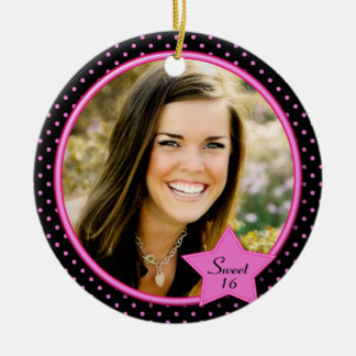 Sweet Sixteen Photo Ornament