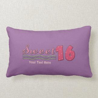 Sweet Sixteen (Pink- customizable) Throw Pillow