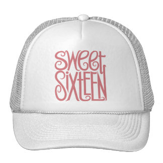 Sweet Sixteen Pink Hat