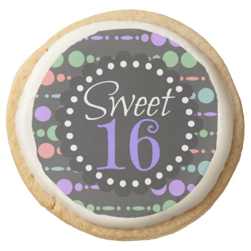 Sweet Sixteen Polka Dots and Dashes Birthday