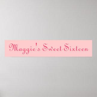 Sweet Sixteen Print