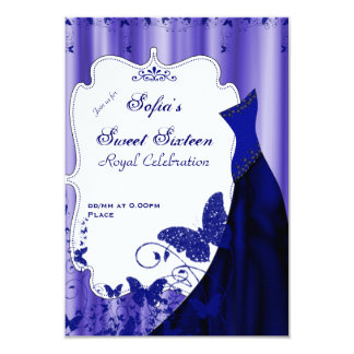 Sweet Sixteen Royal Celebration - Customized it! 3.5x5 Paper Invitation Card