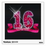 Sweet Sixteen Sparkle Room Sticker