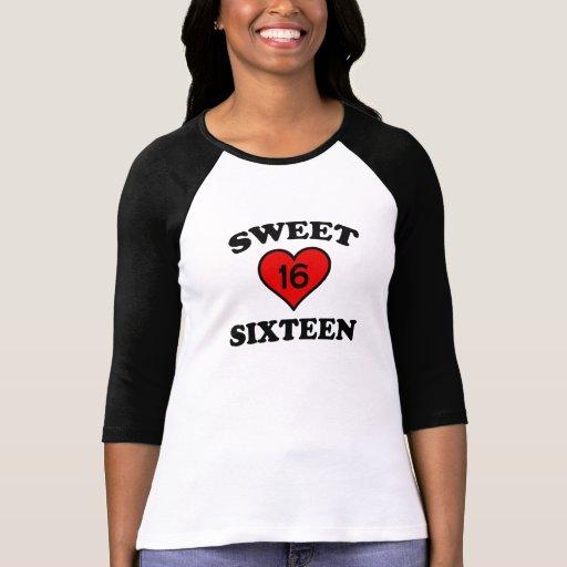SWEET SIXTEEN TSHIRTS
