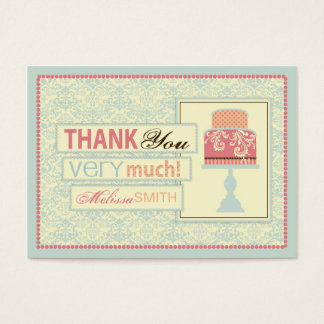 Sweet Sixteen TY Gift Tag Large Business Card