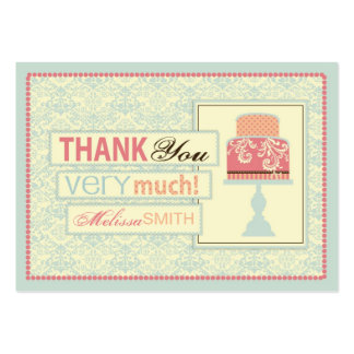 Sweet Sixteen TY Gift Tag Large Business Cards (Pack Of 100)