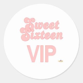 Sweet Sixteen VIP Pink Sticker