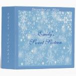 Sweet Sixteen, Wedding, Winter Memories Album 3 Ring Binders