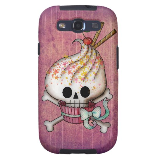 Sweet Skull Cupcake Galaxy S3 Cover