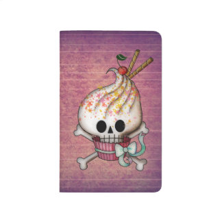 Sweet Skull Cupcake Journal