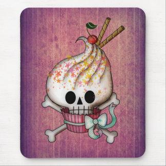Sweet Skull Cupcake Mouse Pad