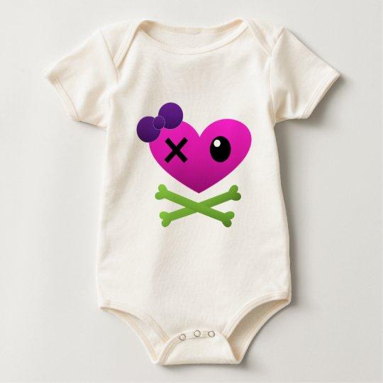 Sweet Skullz Baby Bodysuit