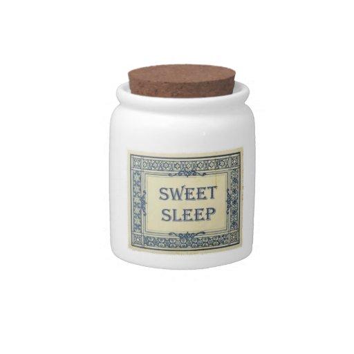 Sweet Sleep Jar Candy Dishes