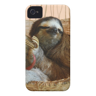 Sweet Sloth iPhone 4 Cover