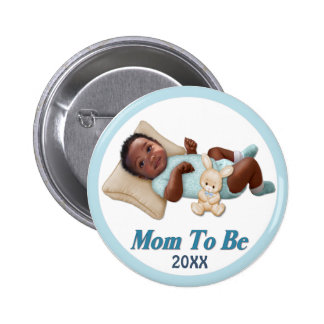 Sweet Smiles - Mom To Be Pinback Buttons